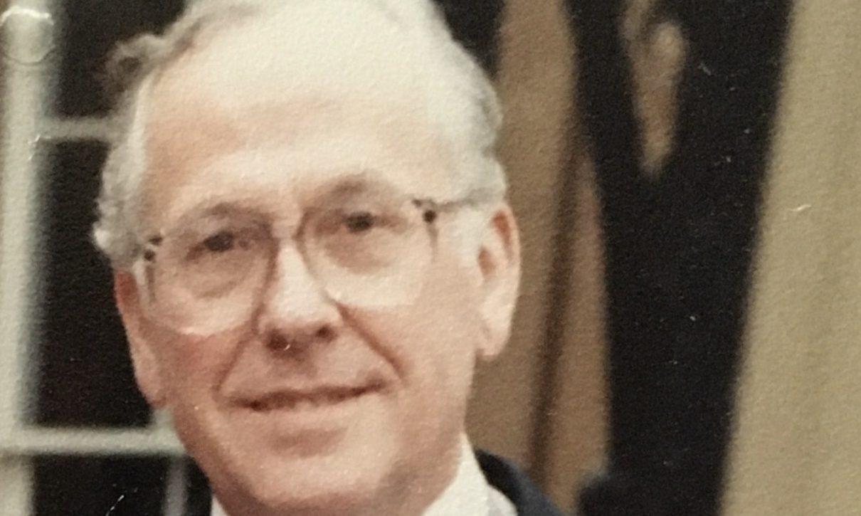 Dr Ian Lawrenson OBE.