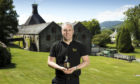 John MacKenzie, distillery manager at Dewars Aberfeldy Distillery.  Picture by Graeme Hart. Copyright Perthshire Picture Agency Tel: 01738 623350  Mobile: 07990 594431