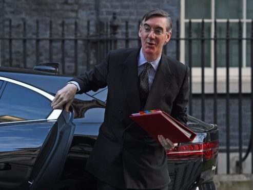 Leader of the House of Commons Jacob Rees-Mogg arrives for a cabinet meeting at 10 Downing Street, London. PA Photo. Picture date: Tuesday March 3, 2020. Photo credit should read: Kirsty O'Connor/PA Wire