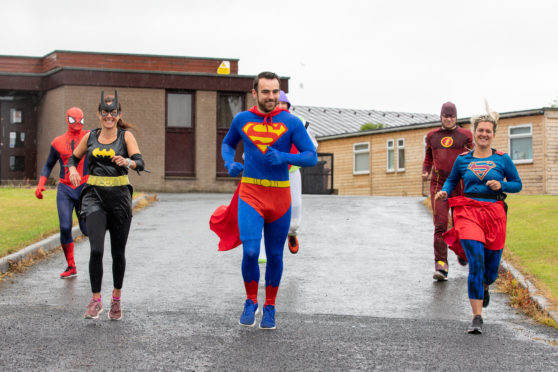 Fife's latest superheroes in action