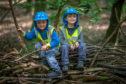 Fun in the woods: The Secret Garden Outdoor Nursery is back in action.