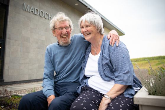 Ann and Jim are now looking forward to an August wedding,
