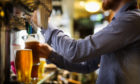 The beer and now: Nicola Sturgeon is expected to address the issue of licenced premises reopening on or around July 2.