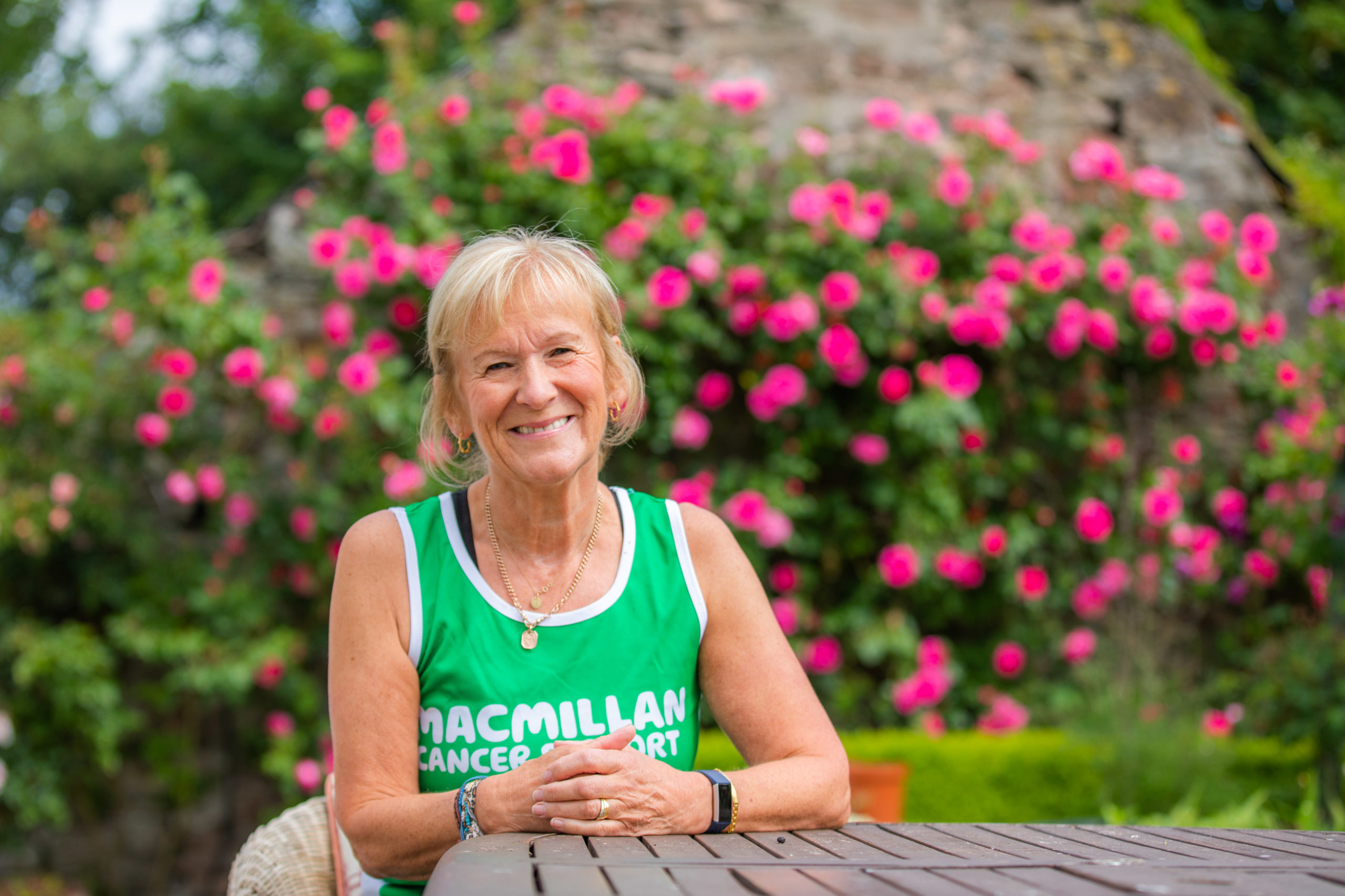 Kirsty Pilcher has raised over £5,000 for Macmillan. Picture: Steve MacDougall.