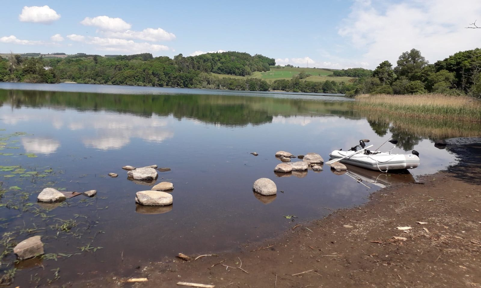 Loch Clunie has hosted unwelcome campers and litterbugs since lockdown restrictions were lifted.