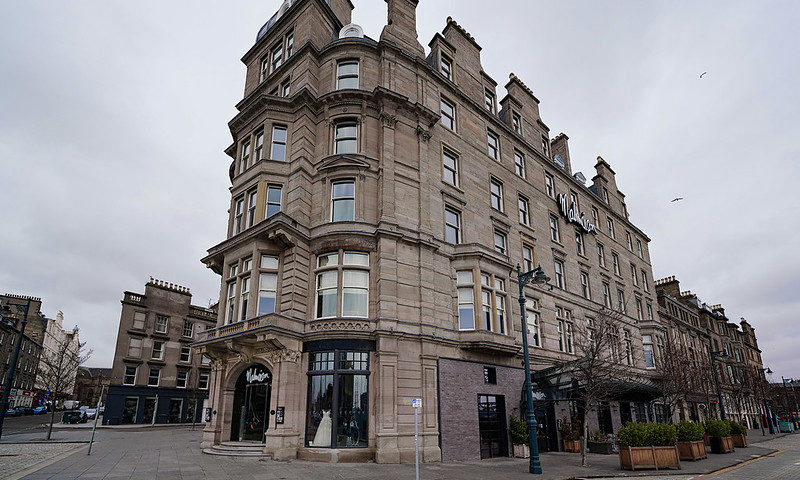 The exterior of Malmaison in Dundee