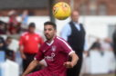 Omar Kader in action for Arbroath
