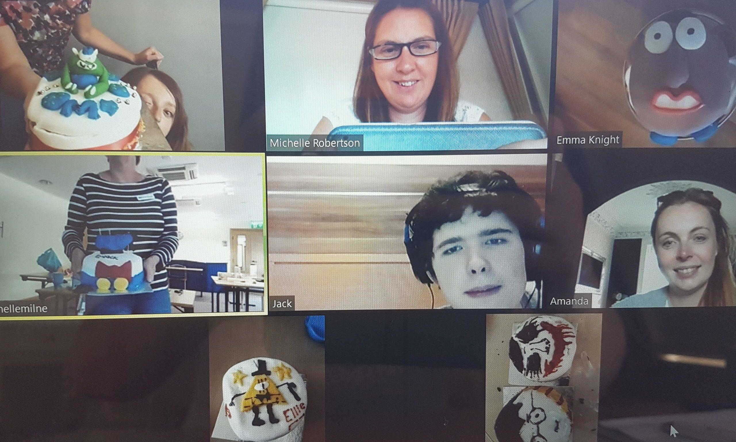 The virtual bake-off by the Rachel House team