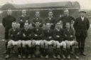 Jennings, back row, third from left, in the Raith Rovers team before he was sold to Leeds.