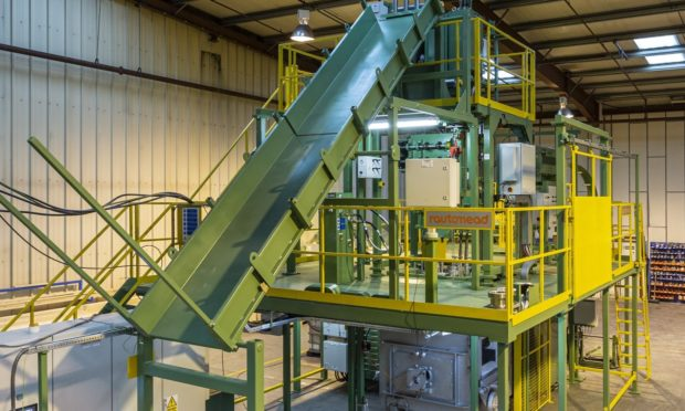 Rautomeads continuous casting machine