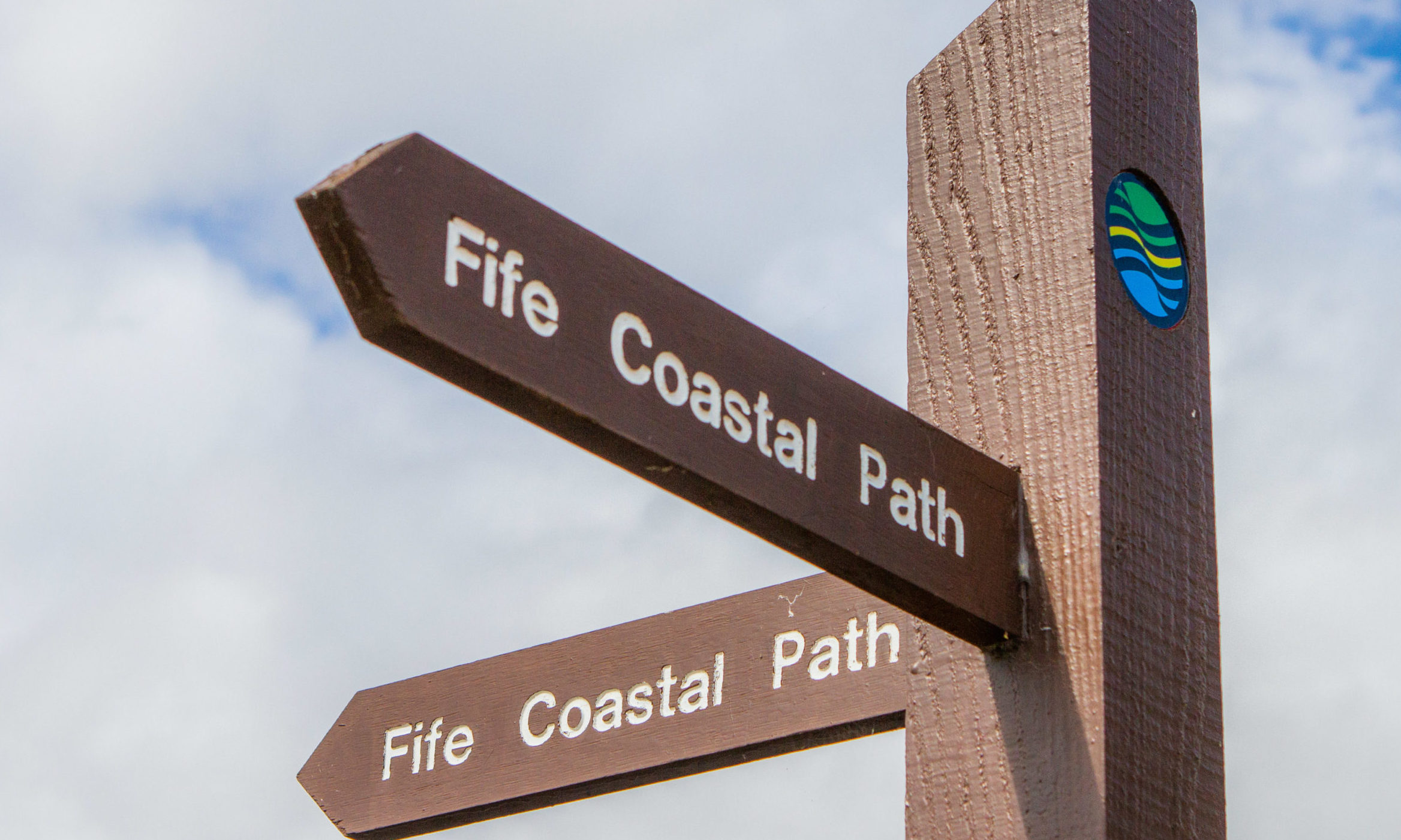 The Fife Coastal Path.