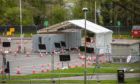 Results of tests carried out at sites including Perth College, pictured, have not been published
