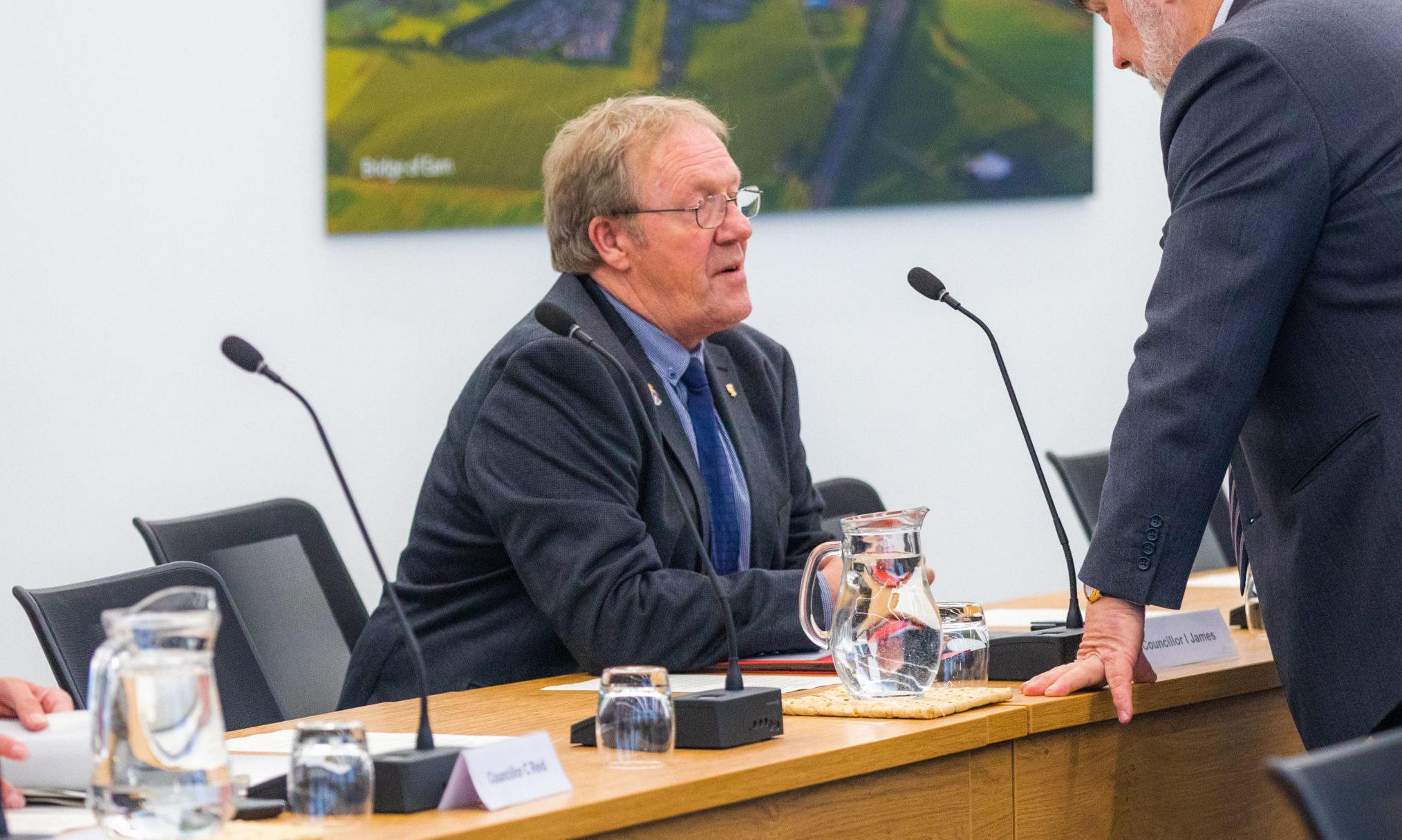 Councillor Ian James.