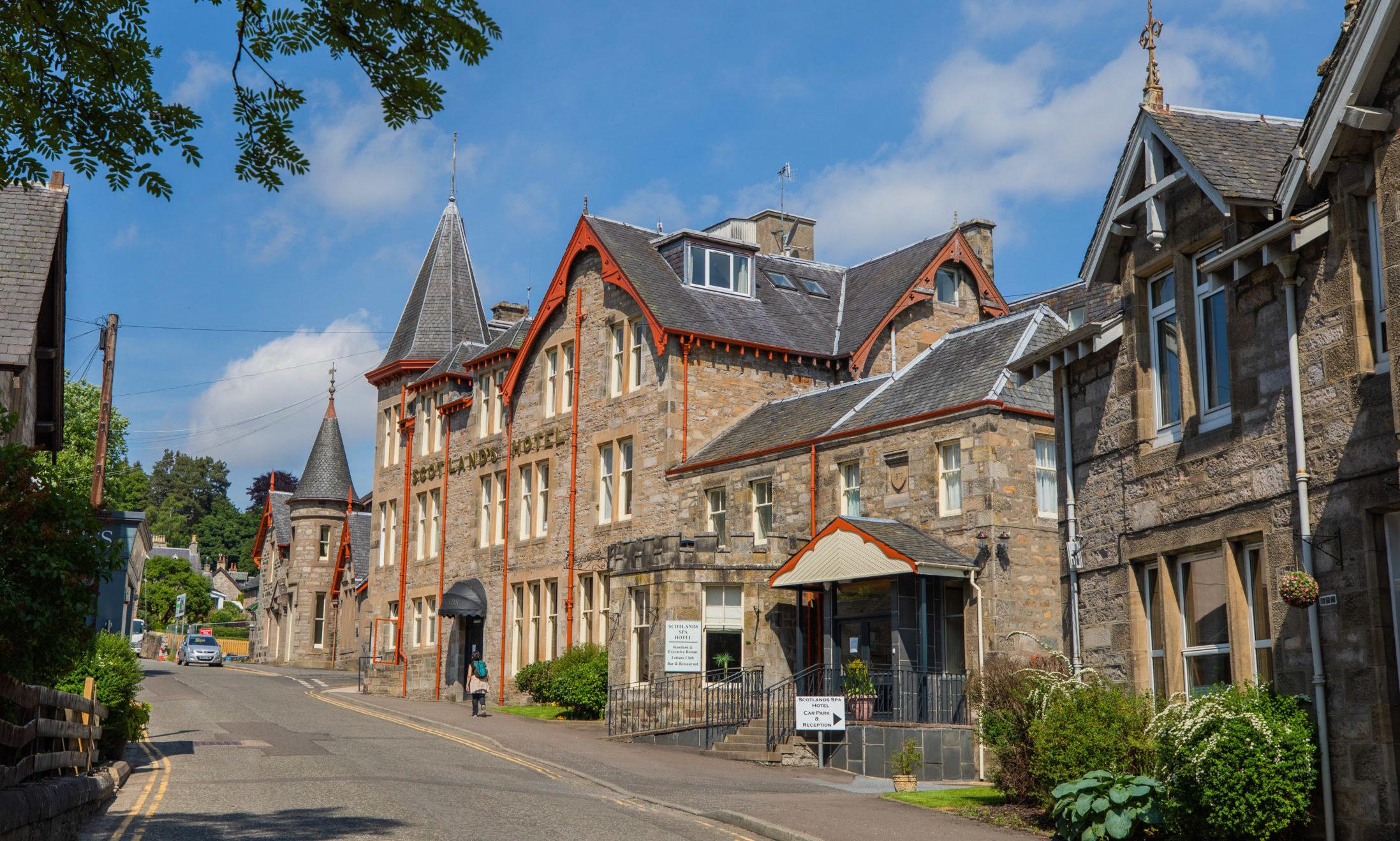 Scotland's Spa Hotel.