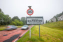 Entrance to Gilmerton. Picture: Steve MacDougall.