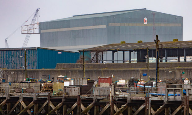 BiFab Facility in Methil. Picture: Steve Brown