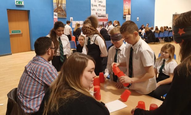 St Paul's Academy in Dundee was one of the winners.