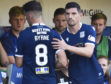 Two players Dundee persuaded to drop down a league last season - Shaun Byrne and Graham Dorrans.