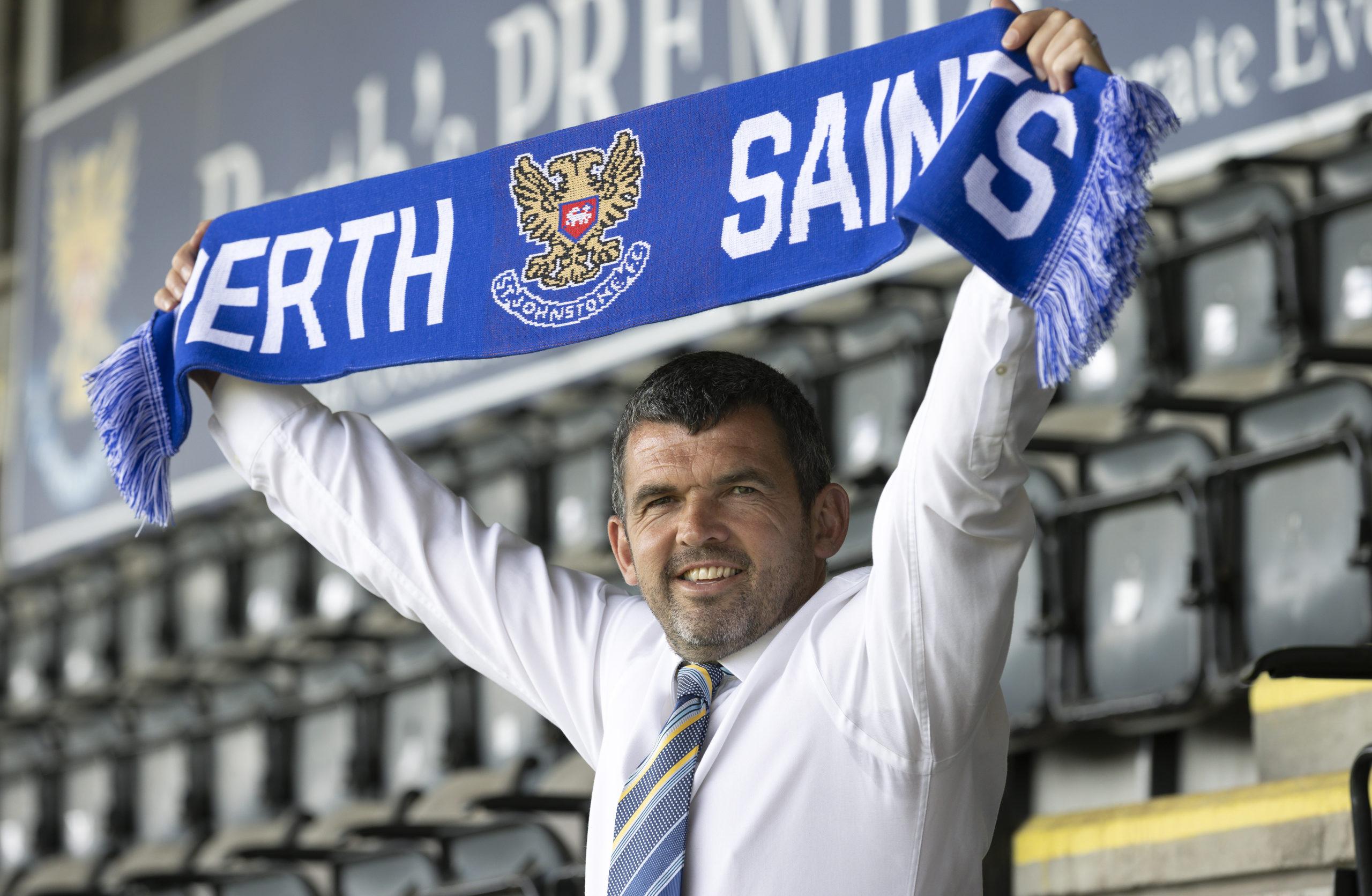 Callum Davidson replaced Saints legend Tommy Wright