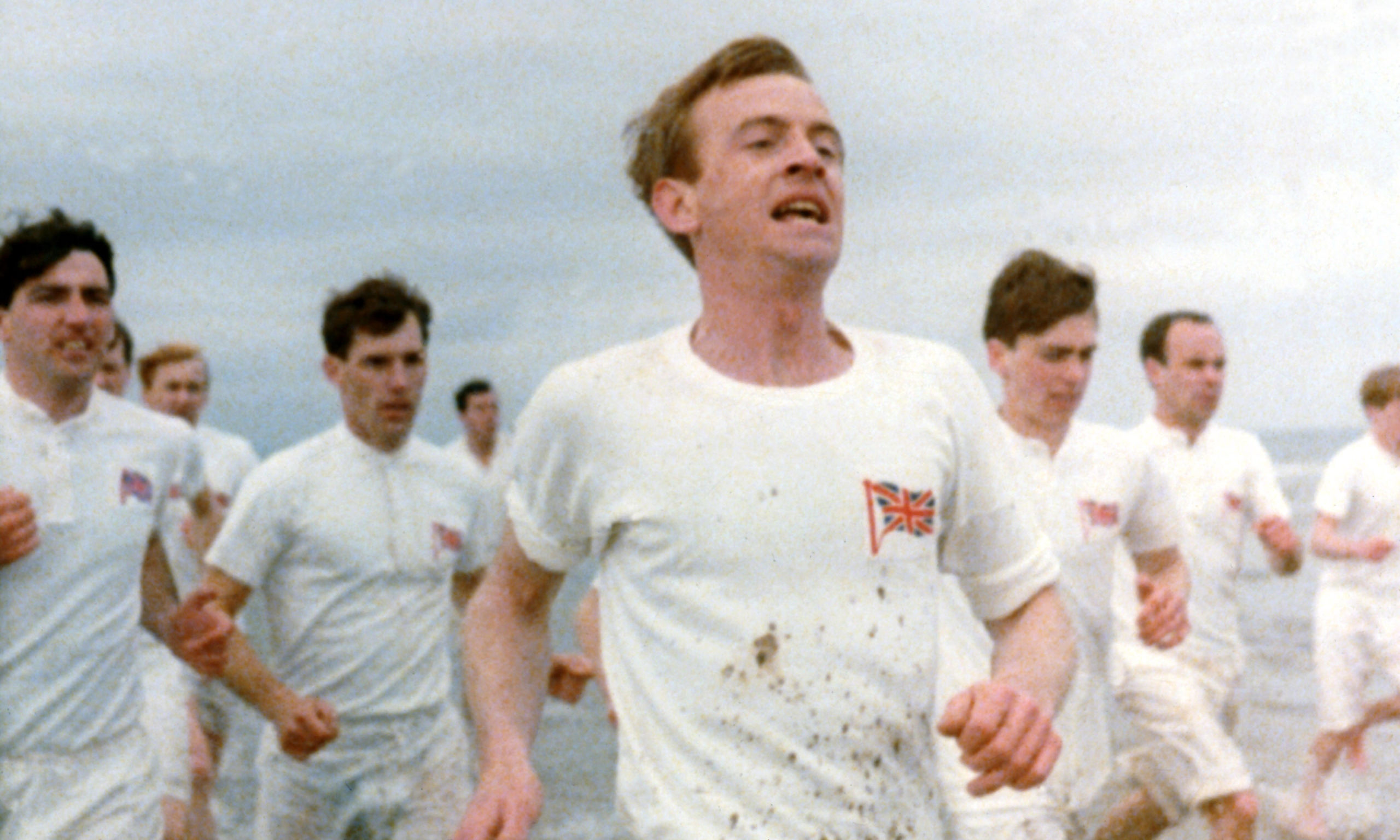 The famous 'running scene' from the opening titles of Chariots of Fire