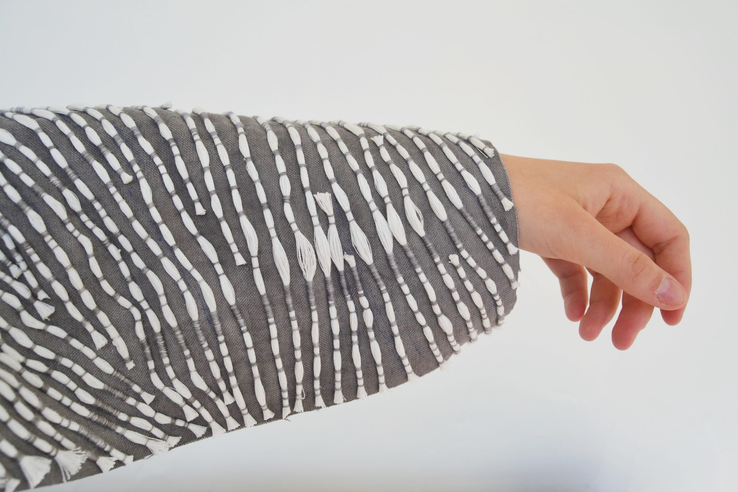 An eco-friendly burial wear design by Francesca Rea.