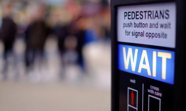 A pedestrian crossing.