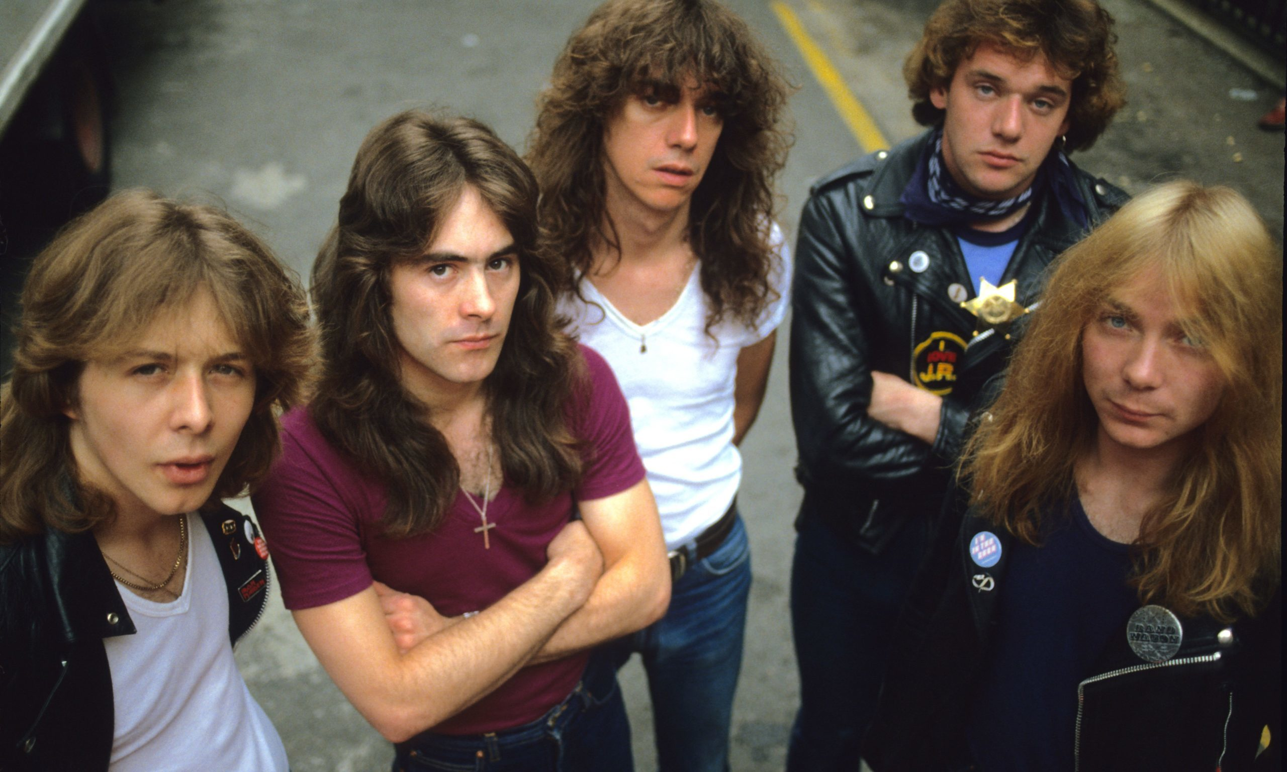 Iron Maiden in July 1980.