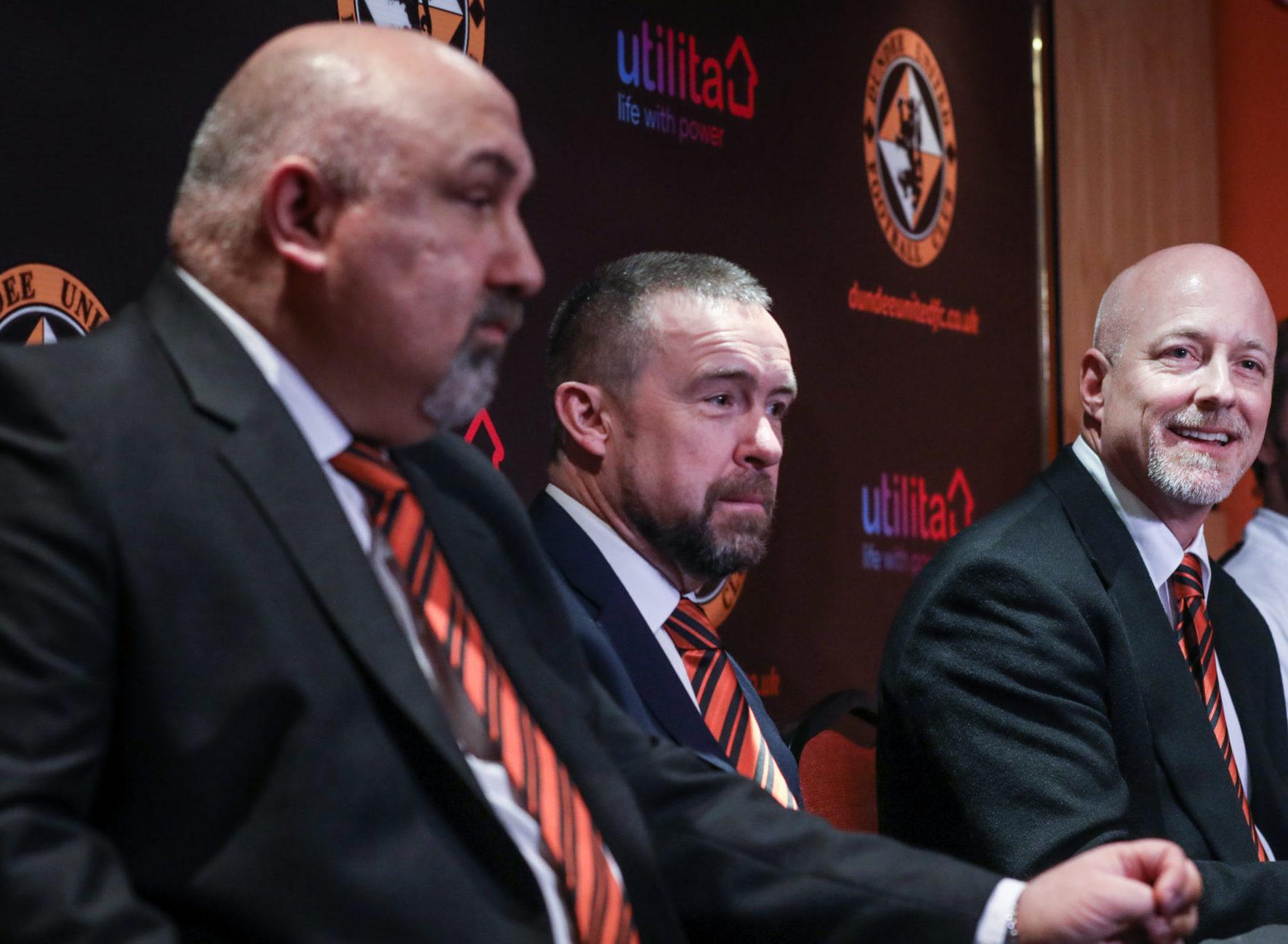 Tony Asghar (left), with Mal Brannigan and Mark Ogren.