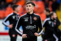 DUNDEE, SCOTLAND - JANUARY 25: Dundee Utd's Chris Mochrie ahead of the Ladbrokes Championship match between Dundee Utd and Greenock Morton at Tannadice on January 25, 2020, in Dundee, Scotland. (Photo by Ross Parker / SNS Group)