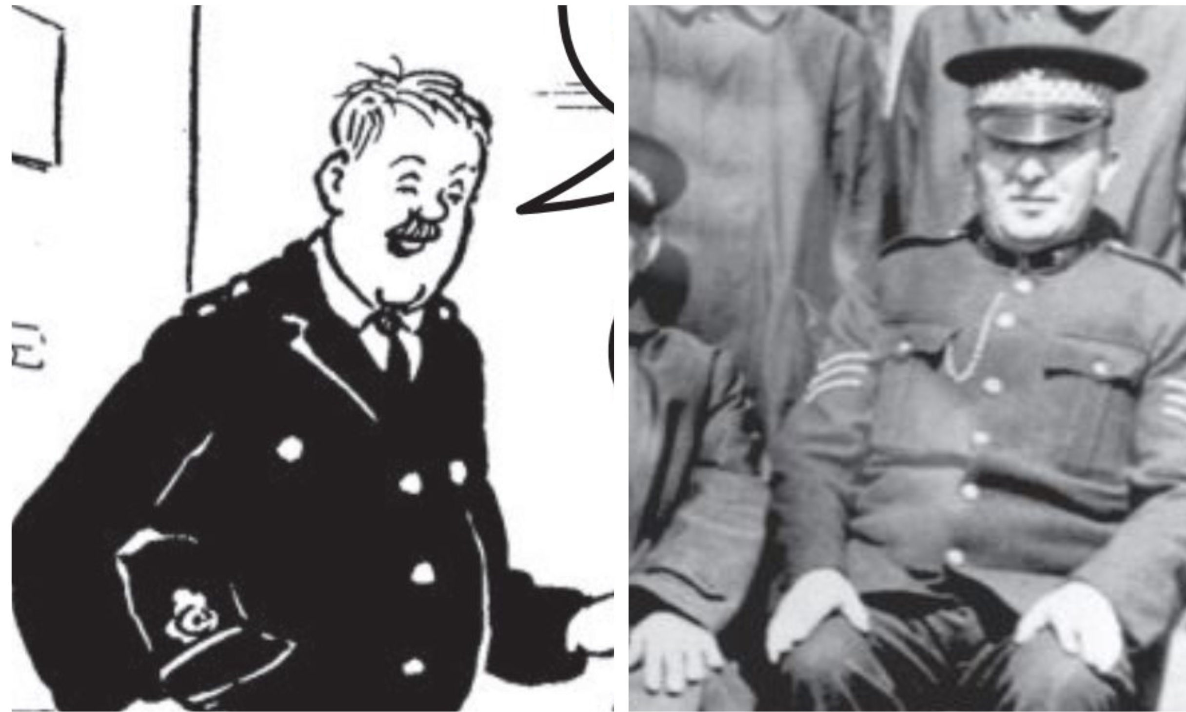 Fifer PC Sandy Marnoch was the inspiration for PC Murdoch of Oor Wullie fame.