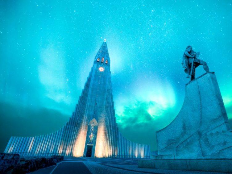 Hallsgrimkja church