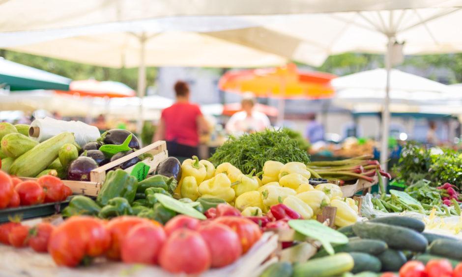 Farmers' markets will hopefully reopen soon.