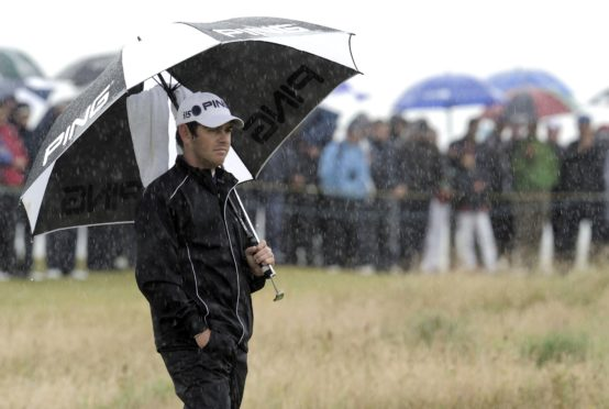 Louis Oosthuizen mastered the weather at the 2010 Open.