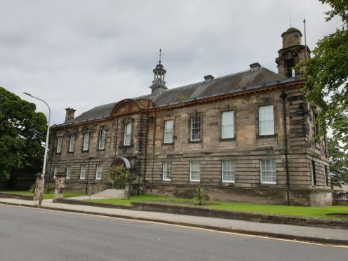 The court annexe is based in the Kirkcaldy Police Station building.