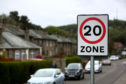 20mph speed limits will be put in place throughout Perth and Kinross.