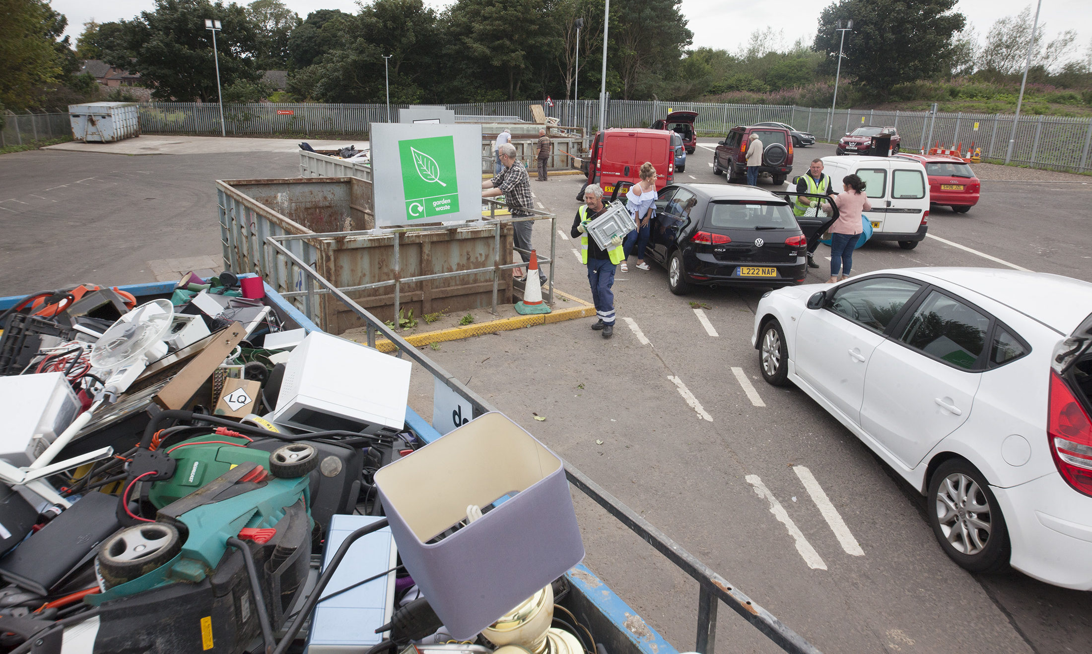 Arbroath Recycling Centre.
