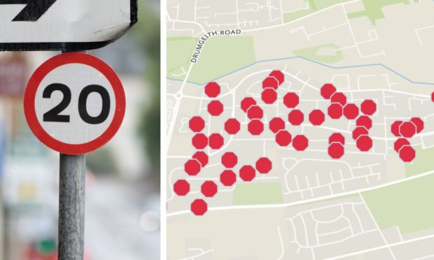 The first 20mph zone will be in Douglas.