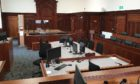 The new sheriff and jury court in Kirkcaldy - but it has yet been unable to host sheriff and jury business.