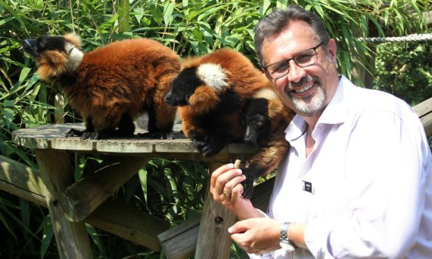 David Field is the recently appointed CEO of the Royal Zoological Society of Scotland