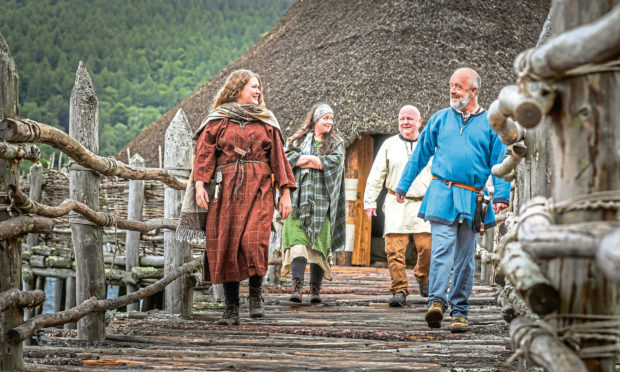 The Scottish Crannog Centre will reopen in August.