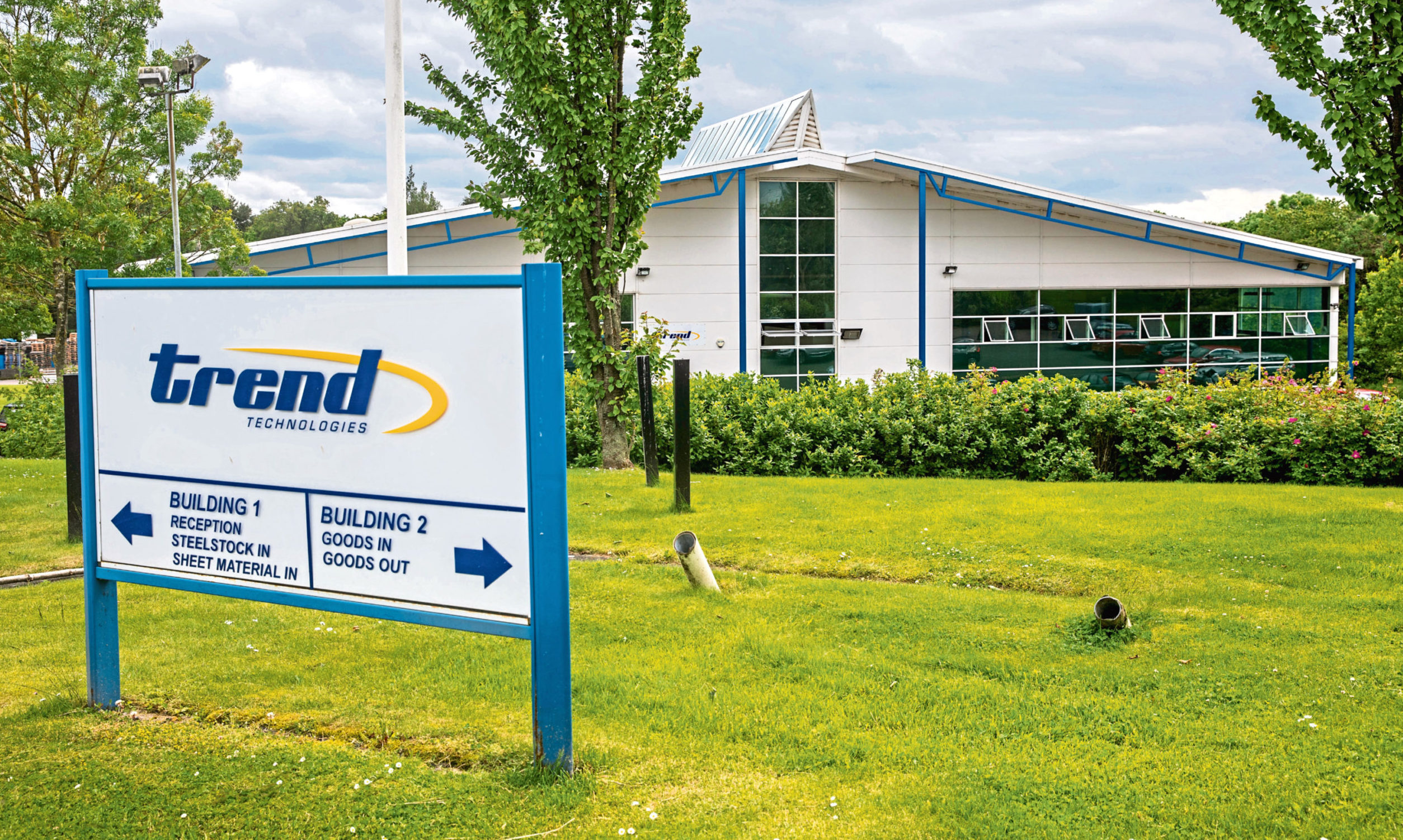 Trend Technologies premises in Westwood Park, Glenrothes.