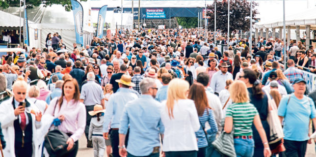 The Royal Highland Show's future is under threat.