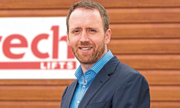 Caltech Lifts managing director Andrew Renwick.