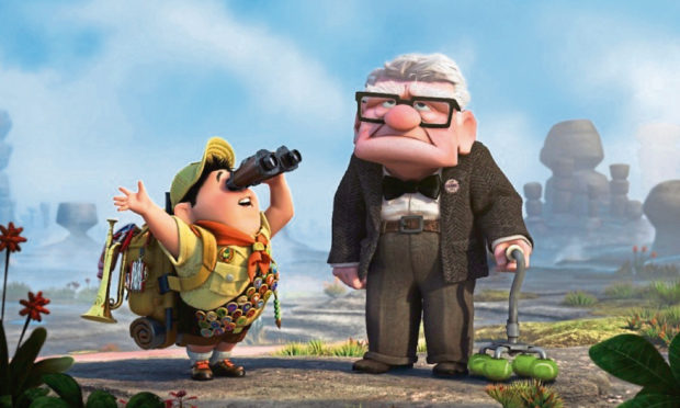 The Pixar classic, Up, is also on the Drive In Movies programme at the Virtual Edinburgh Festival