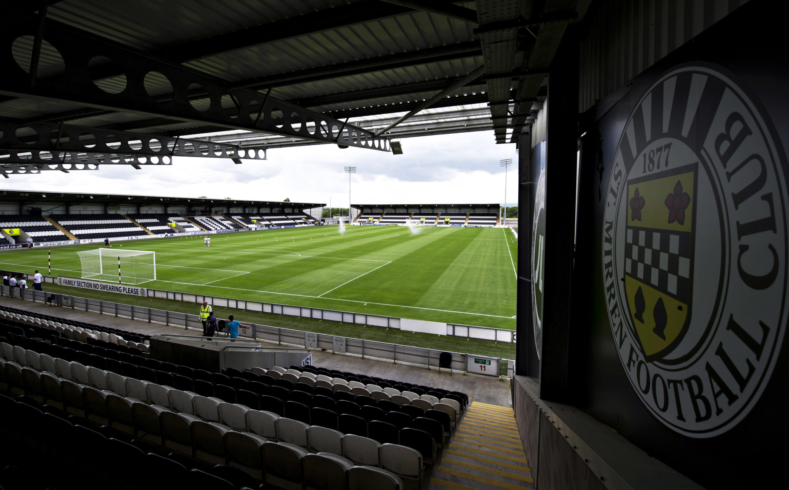 St Mirren confirmed they had returned several positive Covid-19 tests