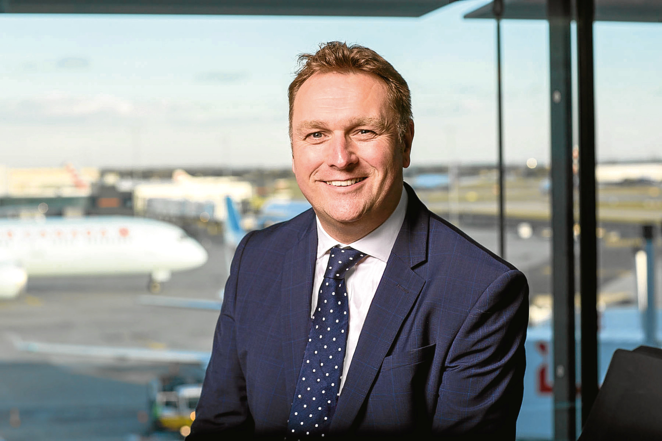 Derek Provan, chief executive of AGS Airports.