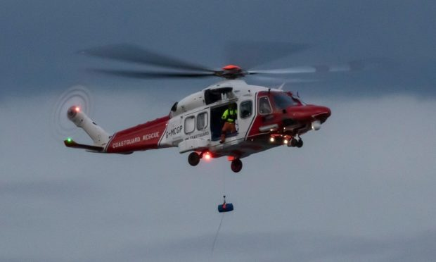 Photographer Gill Howie of Arbroath firm Squadron Prints captured the rescue drama.