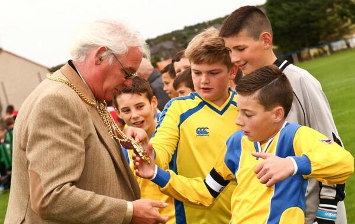 Fife Provost Jim Leishman was guest of honour at one of the tournaments in previous years.