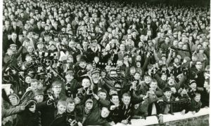 Dens Park was the setting for The Great Race.