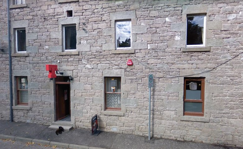 Commercial Hotel, Newtyle (stock image).